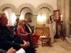 Ambassadör Cecilia Julin med make lyssnar till Johanna Löv som spelar på piano - La Embajadora Cecilia Julin y su esposo escuchan a Johanna Löv tocando el piano. Foto: Gunnel Köhring