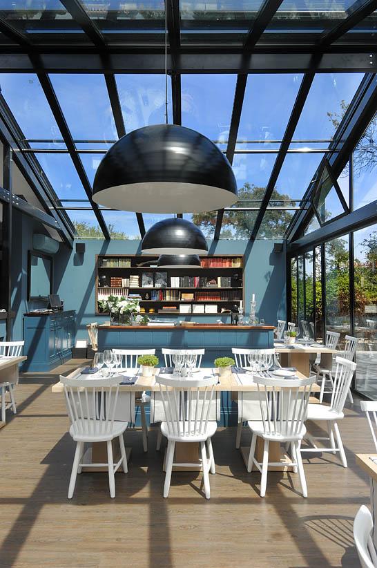 La terraza acristalada - Den inglasade terrassen